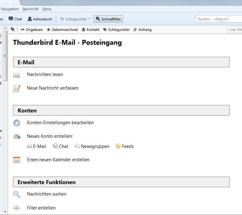 Probleme beim Öffnen der Posteingänge und E-Mail-Anhänge ...