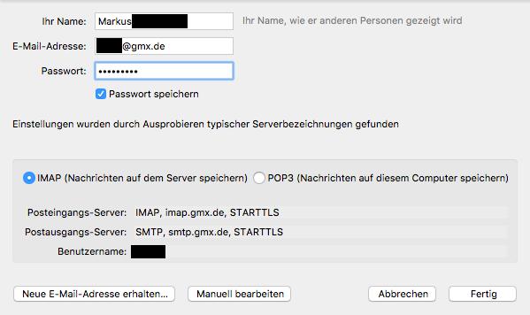 GMX-Zertifikat wird abgelehnt, Ausnahmeregel funktioniert nicht (Mac ...