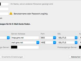 Probleme gmx passwort login Free Email